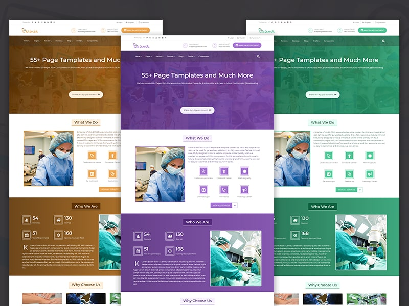 Klinik - HTML5 & CSS3 Responsive Template for Clinic, Doctor & Hospital